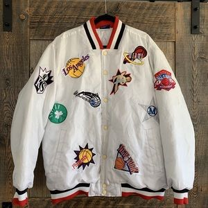 Other - 🏀2003 NBA ALL-STAR PATCHED PUFFER JACKET ⛹🏻‍♂️